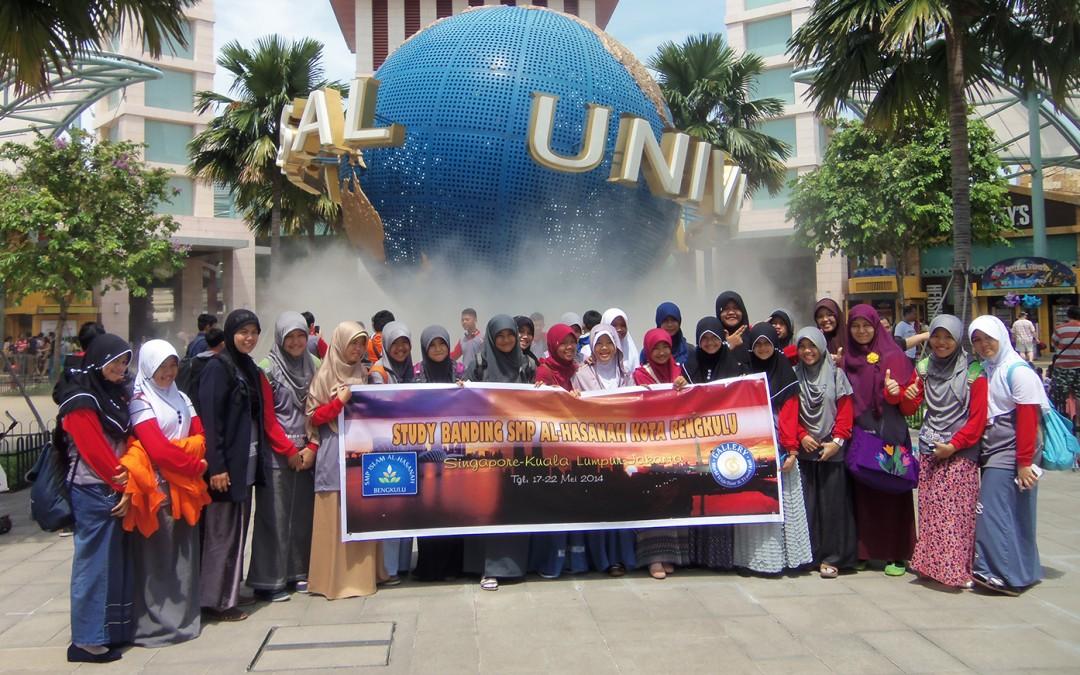 Study Tour SMPI Al-Hasanah Tahun 2014 ke Singapura – Malaysia – Jakarta