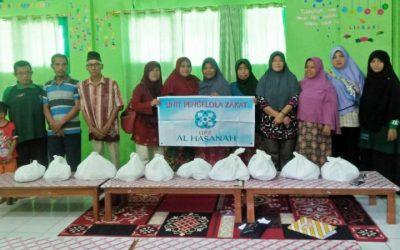 UPZ Al Hasanah Menggalang Donasi Untuk Korban Banjir Bengkulu 27 April 2019