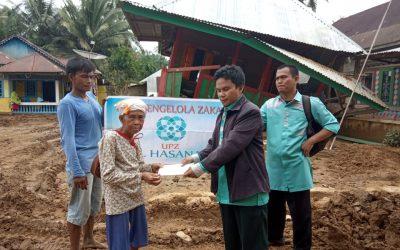 UPZ Al Hasanah Distribusikan Donasi Korban Banjir Bengkulu