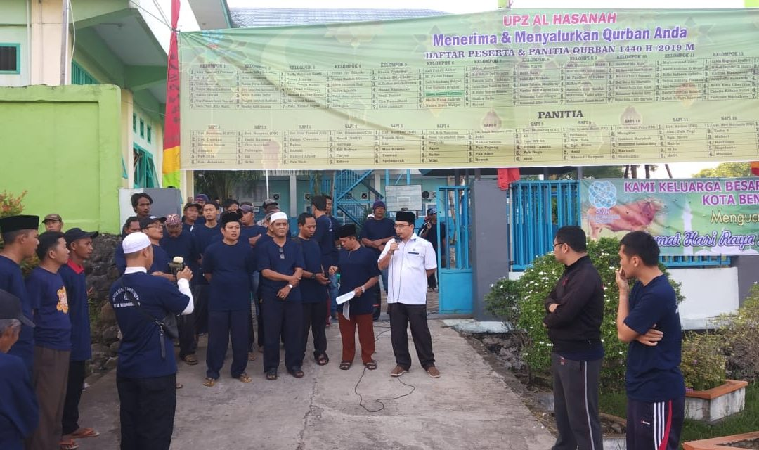 Idul Adha 1440 H, UPZ Al Hasanah Kurban 19 Sapi dan 4 Kambing