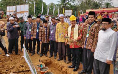 Dukung Center of Excellence Pendidikan Berkualitas, Gubernur Rohidin Resmikan Pembangunan SMAIT dan Masjid Al Hasanah
