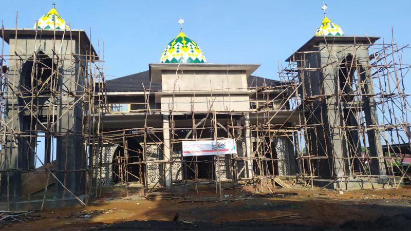 Progress Pembangunan Masjid SIT Betungan –  Minggu ke 3 Januari 2020
