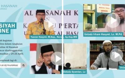 Murokkaz Al Quran dan Sebar 114 Paket Sembako Ramadhan 1441 H