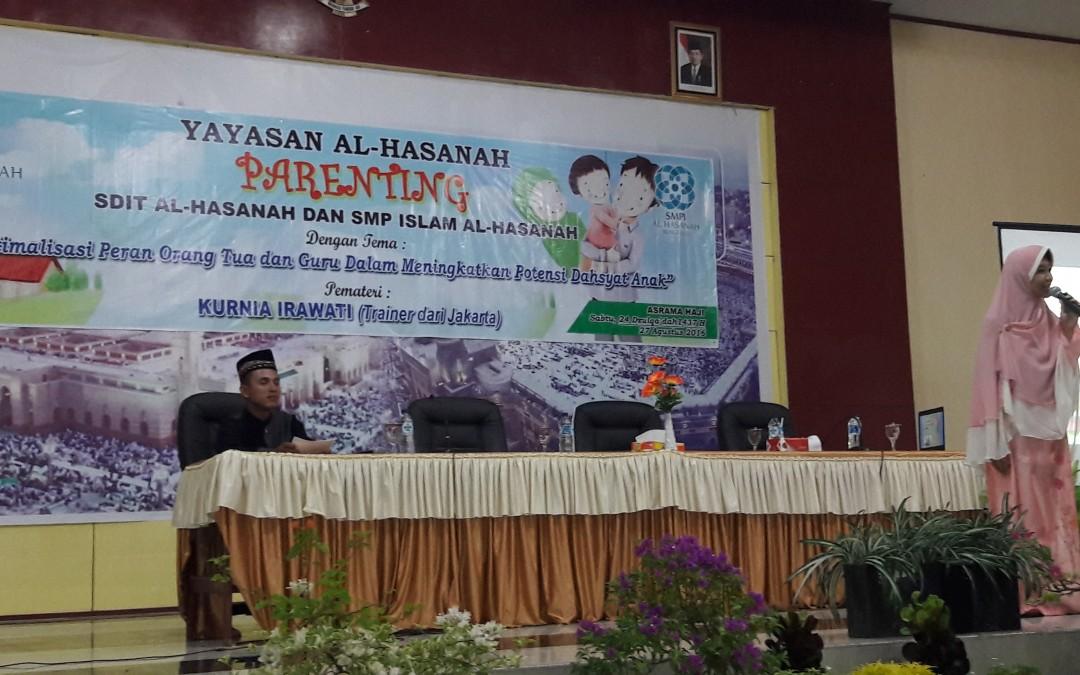 Islamic Parenting Yayasan Al Hasanah, Mendidik Anak Amanah Orang Tua