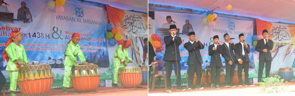 pentas-seni-musik-dol-dan-nasyid-beat-box-sdit-alhasanah-dan-ponpes-alhasanah