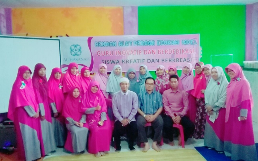 AQUATIC Adakan Workshop BCCT dan APE untuk PAUD IT Al Hasanah