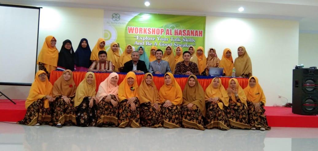 Pelatihan Public Speaking Guru dan Karyawan Al Hasanah 2019