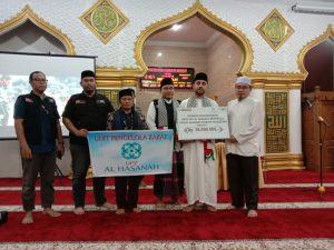 upz-alhasanah-salurkan-donasi-kemanusiaan-untuk-palestina