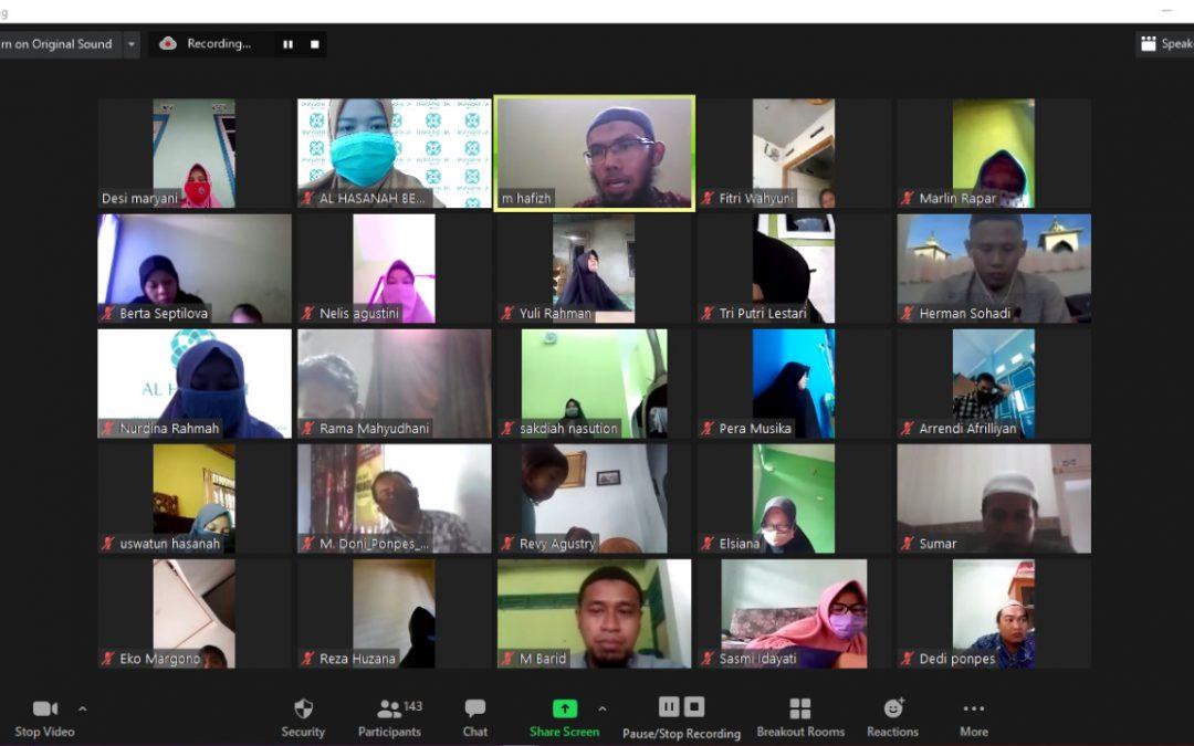 Pengajian Virtual Al Hasanah: Kiat Menguatkan Ibadah di Tengah Pandemi